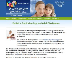 St. Louis pediatric ophthalmologist